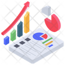 Data Chart Report Icon