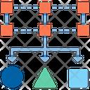 Data Classification Data Distributed Data Icon