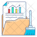 Remove Data Data Cleaning Data Cleaner Icon