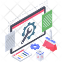 Data Cleaning Vector Icon