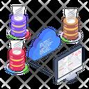Database Network Data Coding Storage Coding Icon