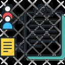 Data Collection Feedbackquestionnaire Survey Icon