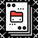 File Data Folder Icon