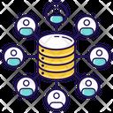 Data Collection Data Centre Big Data Icon