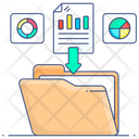 Data Gathering Data Collection Digital Data Collection Icon