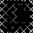 Data Zip Shrink Icon