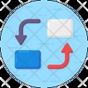 Folder Exchange Data Convert Information Convert Icon
