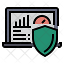 Data Dashboard Protection Secure Dashboard Secure Network Icon