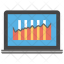 Data Display Online Analytics Graph Analysis Icon