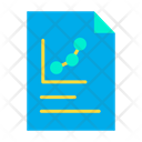 Data Documents Report Graph Icon