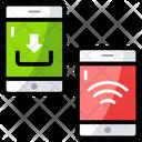Internet Data Mobile Data Data Download Icon
