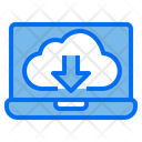 Cloud Web Browser Download Icon
