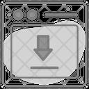 Data Download Storage Icon