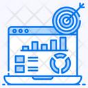 Data Driven Marketing Target Market Marketing Automation Icon