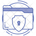 Data Security Cyber Security Data Encryption Icon