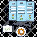 Database Configuration Database Settings Data Preference Icon