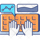 Data Entry Computer Keyboard Database Icon