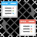 Data Exchange Information Icon