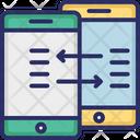 Data Exchange Data Sending Data Sharing Icon