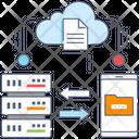 Data Transfer Data Sharing Data Exchange Icon
