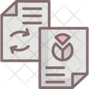 Data Exchange Data Network Data Sharing Network Icon