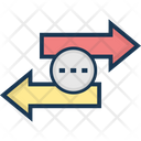 Data Exchange Data Share Share Arrows Icon