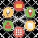 Data Sync Data Exchange Data Sharing Icon