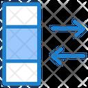 Data Exchange Column Data Icon