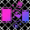 Data Exchange Network Icon