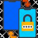 Data Exchange Lock Icon