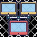 Data Exchanging Data Sharing Data Transfer Icon
