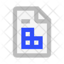 File Tables Icon