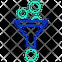 Idata Filter Data Filter Sorting Icon