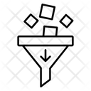 Data Filter Filter Sorting Icon