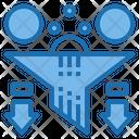 Data Filter Filter Big Data Icon
