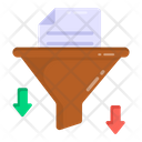 Data Filtering Data Filter Tunnel File Filter Icon
