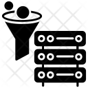 Data Filtering Tunnel Icon