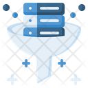 Data Filtering Data Filter Filter Tunnel Icon