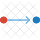 Data Flow Chart Diagram Icon