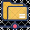 Network Folder Document Shared Folder Icon