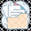 Data Folder Open File Archive Icon