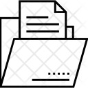 Data Folder Storage Icon