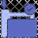 Data Folder Data File Icon
