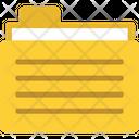 Data Folder Data Storage Document Folder Icon