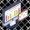Data Chart Data Prediction Data Forecast Icon