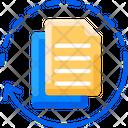 Data Format Conversions File Processing Ai Icon