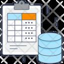 Data Table Frequency Table Data Frequency Table Icon