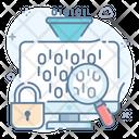 Data Funnel Marketing Funnel Data Filter Icon