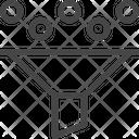 Data Funnel Funnel Icon