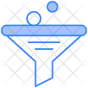 Data Funnel Data Sorting Filtering Icon